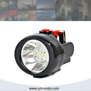 China KL2.5LM 4000lux led miners cap lamp safety and security in mining, mining safety helmet lamp on sale