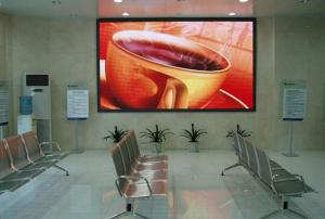 China Transparent P3 Indoor LED Advertising Display Board 576mm×576mm Cabinet on sale