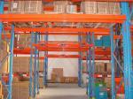 China Anti-Corrosion Galvanized Heavy Duty Pallet Racking / Industrial Steel Storage Racks wholesale