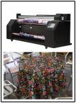 A tinta contínua estável da máquina de impressão da bandeira de SAER fornece 2300mm 646KG