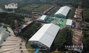 China 30m x50m  Aluminum Material White PVC Exhibition Tent For Outdoor Show on sale