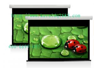 China 133 pulgadas del hd de pantalla de proyección eléctrica, pantalla on sale