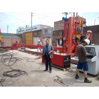 China Automatically Big Pole Pipe Making Machine / Pipe Close And Welding Machine on sale