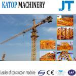Single gyration 50m boom QTZ63-TC5010 4t load tower crane for sale
