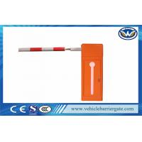 100% Heavy Duty Vehicle Barrier Gate Retractable Fence / Retractable Barrier