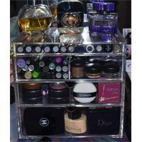 Women advertising box acrylic display box make-up cosmetic case