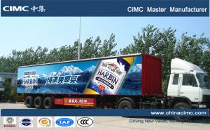 China CIMC widely used 40tons dry van semi trailer on sale