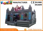 0.55mm PVC tarpaulin Gray  Kids inflatable castle wizards castle inflatable Bounce House