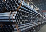 Black Welded Steel Pipe For Water Pipe And Gas Tank