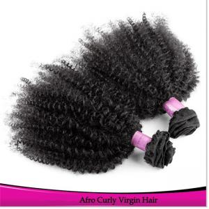 China New Double Machine Weft Aliexpress Brazilian/ Peruvian/ Malasian Curly Human Hair Bundles on sale