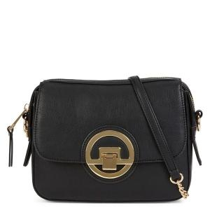 China Customized black and white shoulder bags , women synthetic crossbody bag made in china on sale