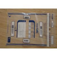 Tamper Evident Courier Bags / Tamper Proof Envelopes For Mailing