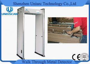 China Anti Interference Shockproof Walk Through Metal Detector Door For High Rise Building on sale