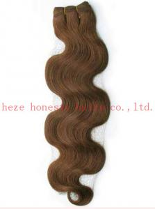 China 100% Human remy hair weaving on sale