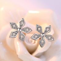 China Fine jewelry 925 sterling silver various shape small stud earrings on sale