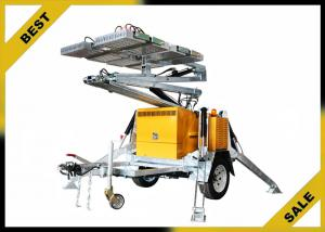 China Electronic Controlled  Portable Light Towers , Hydraulic Locks Towable Light Tower Sustaining Valves on sale