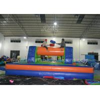 China Adults Inflatable Sports Games / 8 x 4M Inflatable Gladitor Jousting Game on sale