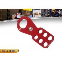 China ZC-K24 Safety Lockout Hasp, 38MM Economicmulti Lock Hasp Hooks 77g Weight on sale