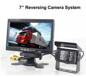 China Truck Reverse Camera 12V~24V DC 7 inch LCD Monitor Night Vision Backup Camera on sale