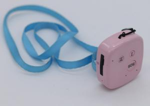 China Pink Smaller Size Gprs Real Time Gps Tracker Device For Person Children Pet on sale