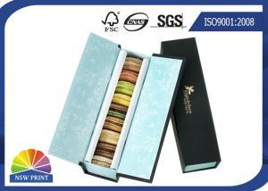China Custom Food Packaging Box Handmade Cardboard Dessert Cookie Paper Gift Box on sale