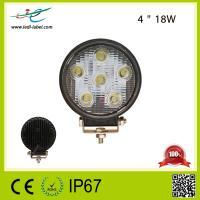 Hot sale 18W led work light led tractor working lights 10v-30v auto led work light