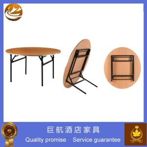 China used round folding banquet table for sale on sale