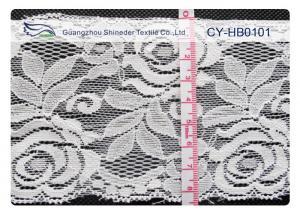 China New Design Cotton Nylon Lace , Nylon + Cotton 10cm Width CY-HB0101 on sale