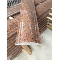 Maple Leaf Red Granite Staircase Handrail, Crown Red Granite Balustrade, China Capao Bonito Granite Banisters