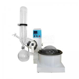 China GG-17 material automatic RE-5000A Rotary Evaporator for high vacuum distillation with water bath on sale