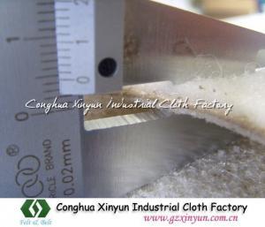 China Fiber Cement Corrugate Sheet Felt,Fiber Cement Board Felt,Nylon Cement Felt on sale