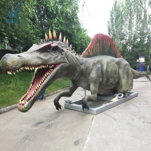 China Building the Animatronic Length 14.5m Spinosaurus In Guangdong Dinosaur Park on sale