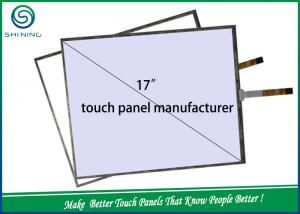 China High Durability Industrial Touch Screen 17 Inches 5 Wire Resistive Touch Panel on sale