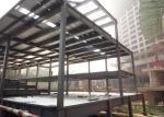 Prefabricated Light Steel Structure Construction Middle Grey With Alkyd Primer