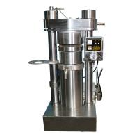 China High Oil Yield Sunflower Peanut Oil Machine Cold Pressing 60 MPa Pressure on sale