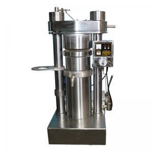 China High Oil Yield Sunflower Peanut Oil Machine Cold Pressing 60 MPa Pressure on sale