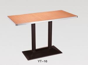 China High Quality modern outdoor furniture Table Base Wrought Iron desk (YT-16) on sale