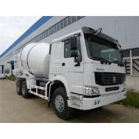 China 8L Concrete Construction Equipment / 9m3 Concrete Mixer Truck With Pump Self - Loading on sale