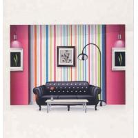 Blank Printable Wallpaper Roll With Solvent Semi - Matt Coating Weather - Resistant