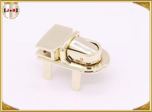 China Magnetic Delicate Zinc Alloy Metal Clasp Lock For Handbags Outer Size 40.7x21.7mm on sale