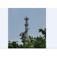 China Full Inspection  Mobile Network Tower  Cell Phone Signal Tower Q345 Q235 on sale