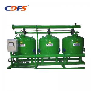 China 10 - 200 Sec Multimedia Sand Filter, 0.15 - 1.0Mpa Water Sand Separator Filter on sale