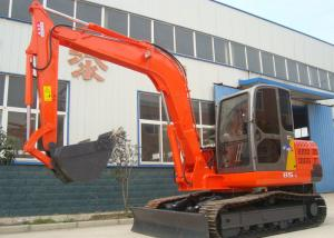 China Low Noise Rock Type Bucket Small Wheeled Excavator With Air Conditioner on sale