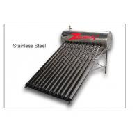 Stainless steel water solar heater/vacuum tube water solar heater Calentador de agua solar