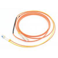 Duplex 3.0mm Mode Conditioning Patch Cord 3M LSZH Orange For Gigabit Interface Converter