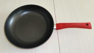 China Ceramic Coated Nonstick Aluminum Frying Pan 20 / 24 / 28 / 30 Cm on sale