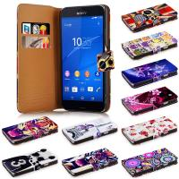 Lightweight and Stylish Sony Phone Cases Wallet Flip For  Z3 Compact