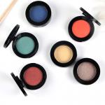 Shimmer / Matte Makeup Eyeshadow Palette Single Color Cosmetics Private Label