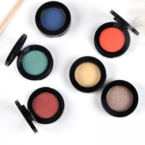 China Shimmer / Matte Makeup Eyeshadow Palette Single Color Cosmetics Private Label on sale