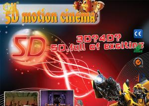 China Air Injection Amusement Park Luxury Seats Special Effects 5D Movie Theater on sale